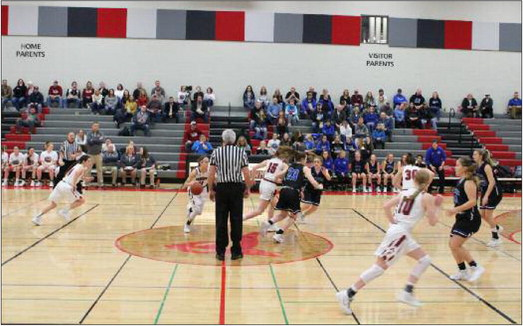 Cardinal girls land knockout punch  to stake claim  to first place