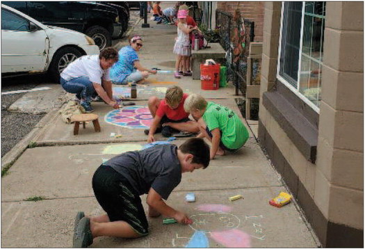 CHALK  IT UP  TO FUN!