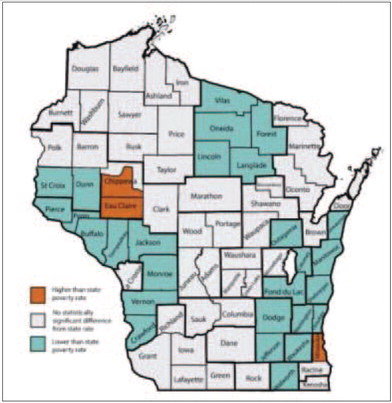 Nearly 10% of county residents living in poverty