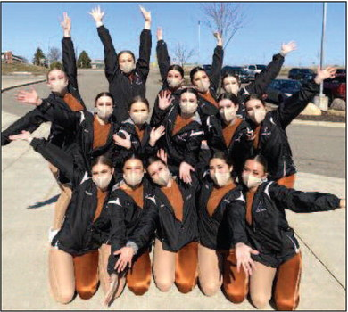 COUNTY DANCERS ON TO STATE COMPETITON!
