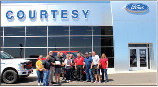 Courtesy Ford and Dollar General hold ribbon cuttings!