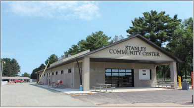 Community Center substantially complete Minor details remain to be finalized