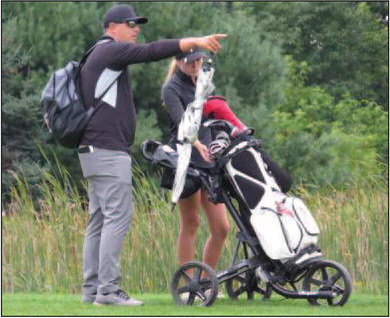 Prescott golf wins second conference meet, Salay finishes first