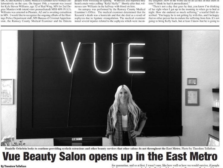 Vue Beauty Salon opens up in the East Metro
