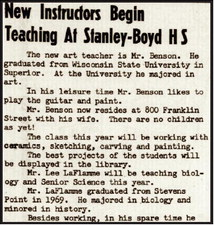 Stanley-Boyd loses legendary coach and teacher Lee LaFlamme
