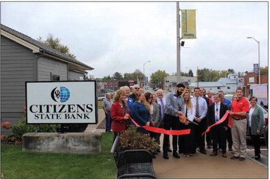 Ribbon cutting held October 8 for  Citizen's State Bank