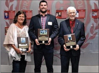 Trio of legends inducted into  Prescott Hall  of Fame
